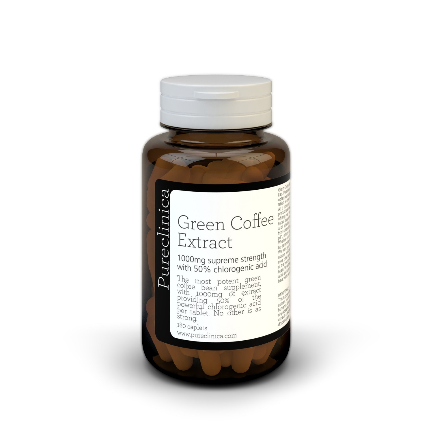 Double Strength Green Coffee Bean Extract - BOGOF