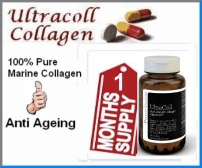 1 Month Supply Pureclinica UltraColl Collagen Capsules