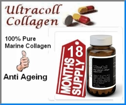 18 Months Supply Pureclinica UltraColl Collagen Capsules